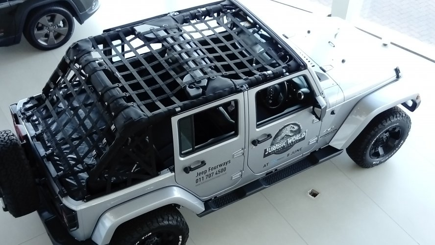 Maverick - Wrangler JKU (4door) Cargo Net - Full