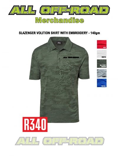 Slazenger Volition Shirt With Embroidery - 140gm