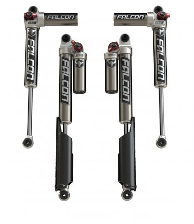 JL/JLU: Falcon Series 3.3 Fast Adjust Piggyback Shocks - All 4