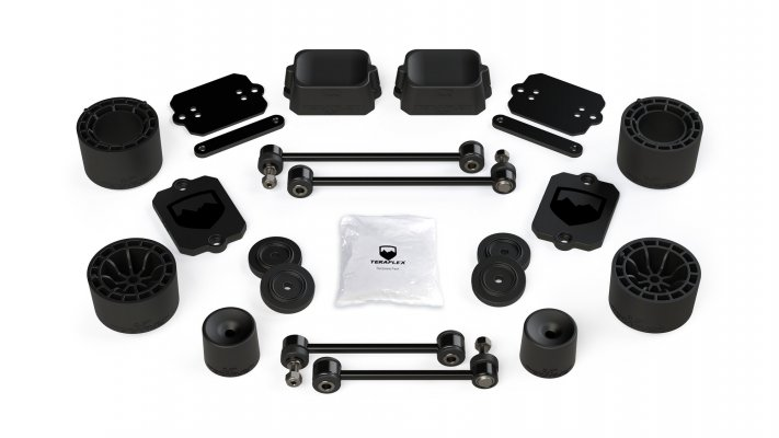 "JL/JLU Sport/Sahara: 2.5"" Performance Spacer Lift Kit"