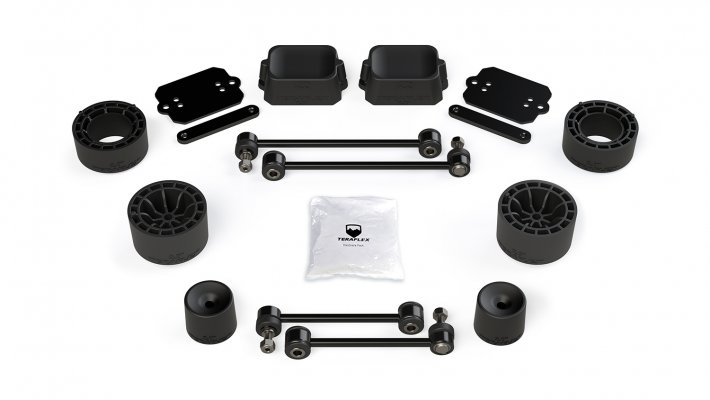 "JL/JLU Rubicon: 2.5"" Performance Spacer Lift Kit"