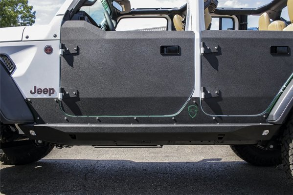 JL Half Doors | SET | Crusader Trail Doors | 2018+ Jeep Wrangler and Gladiator
